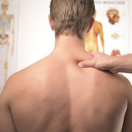 πόνος στη μέση και τον αυχένα